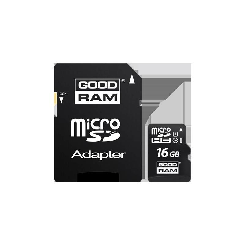 shoppi - GOODRAM MicroSD 16 GB Class10