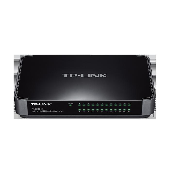 shoppi - Switch de Bureau 24 ports Tp-Link 10/100Mbps