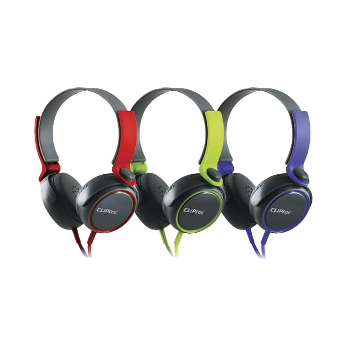 shoppi - CASQUE STÉRÉO MULTIMÉDIA CLIPTEC URBAN ROXX