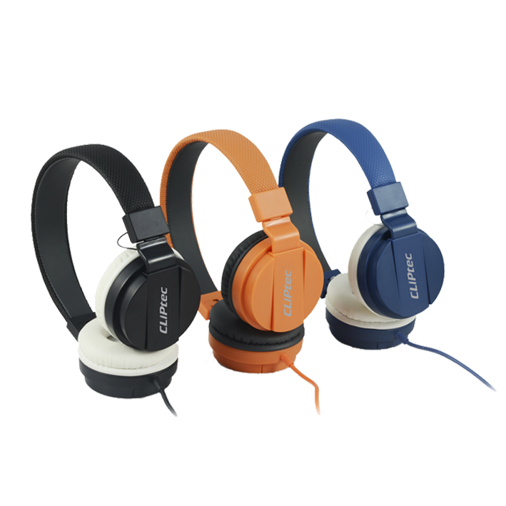 shoppi - CASQUE STÉRÉO MULTIMÉDIA CLIPTEC URBAN UPTOWN