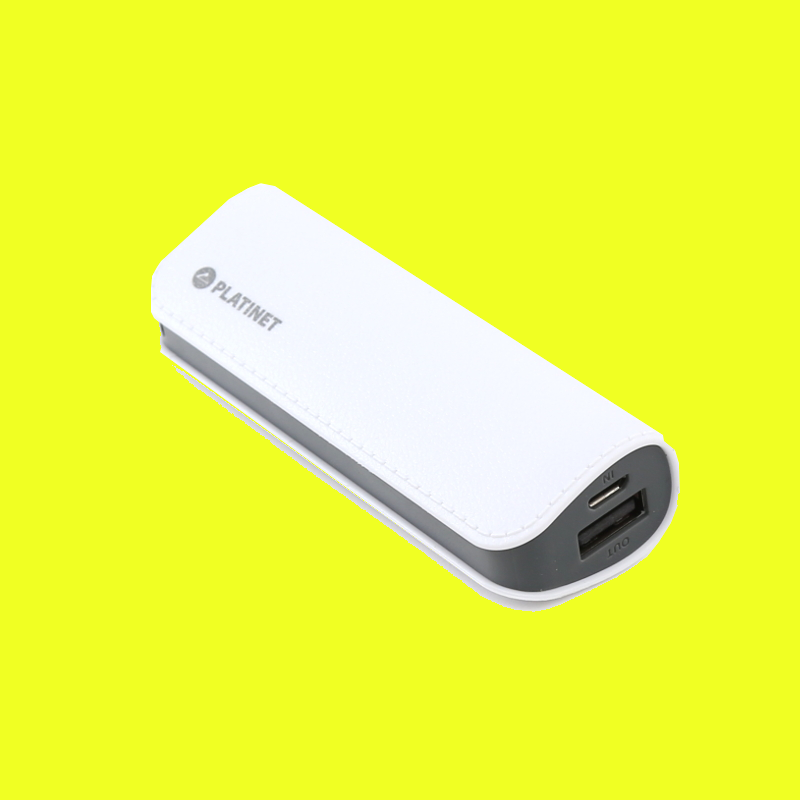 shoppi - Power Bank cuir Platinet 2600mAh