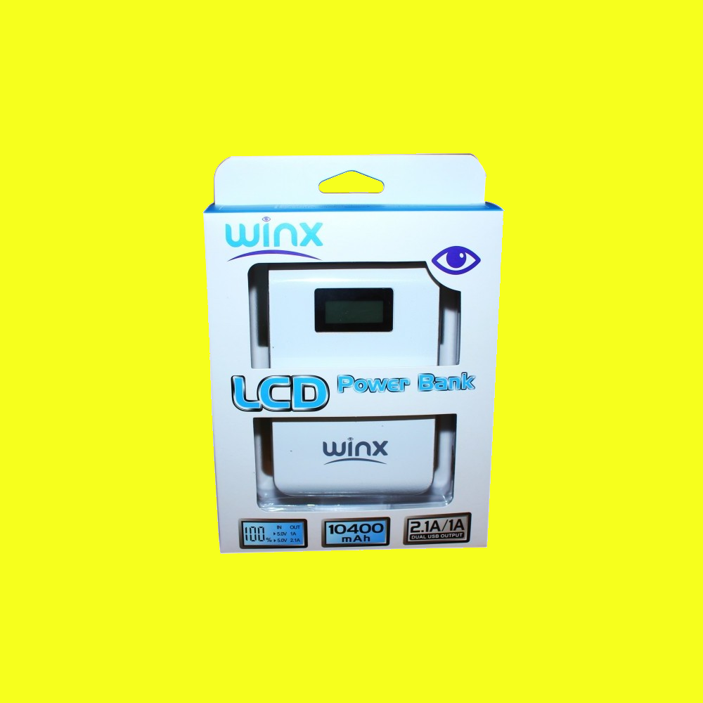 shoppi - POWER BANK WINX 10400 mAh