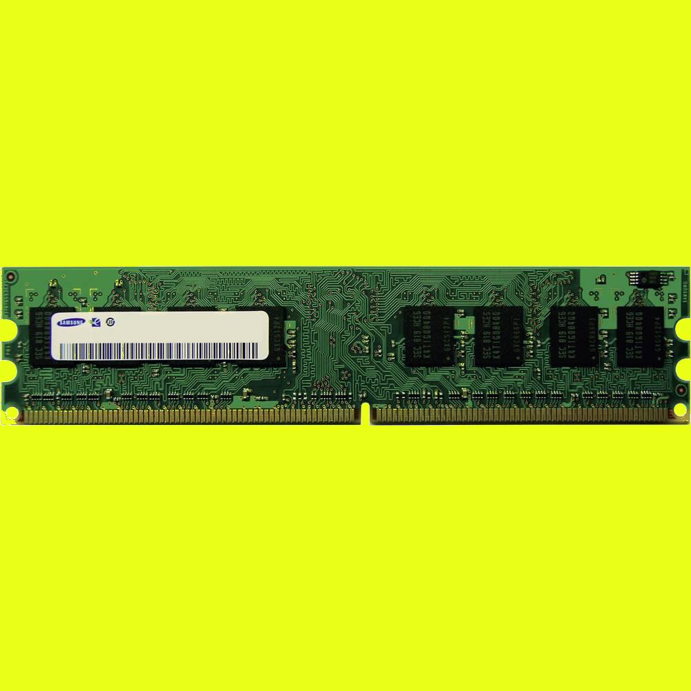 shoppi - Barrette Mémoire SAMSUNG 1GO DDR2 800 DIMM 6400