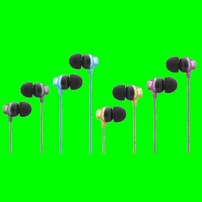 shoppi - CLiPtec URBAN MUSIC Multimédia Écouteurs avec micro & Contrôle du volume
