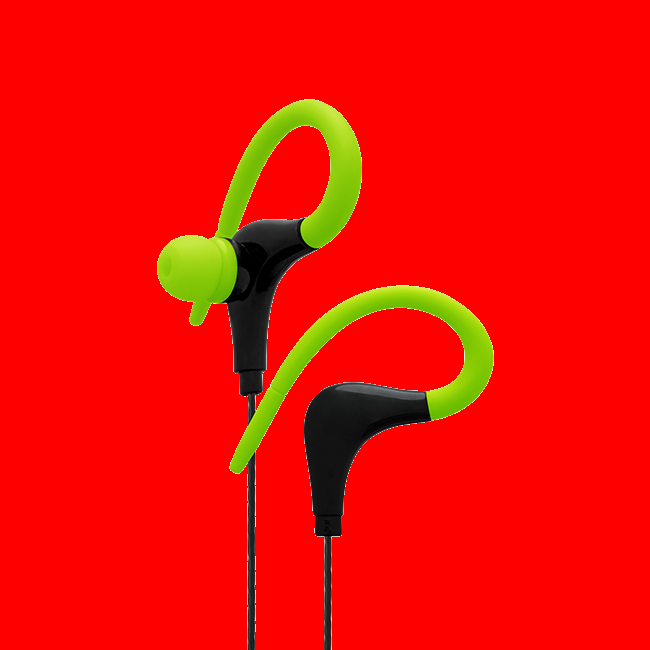 shoppi - Écouteurs CLiPtec XTION-MAX Sports Secure Fit avec microphone BSE202