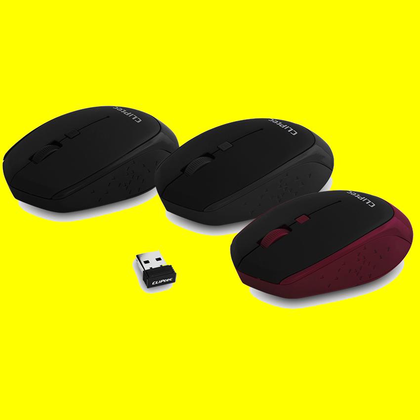 shoppi - Souris optique sans fil CLiPtec INNOVIF 1600dpi 2.4GHz RZS857