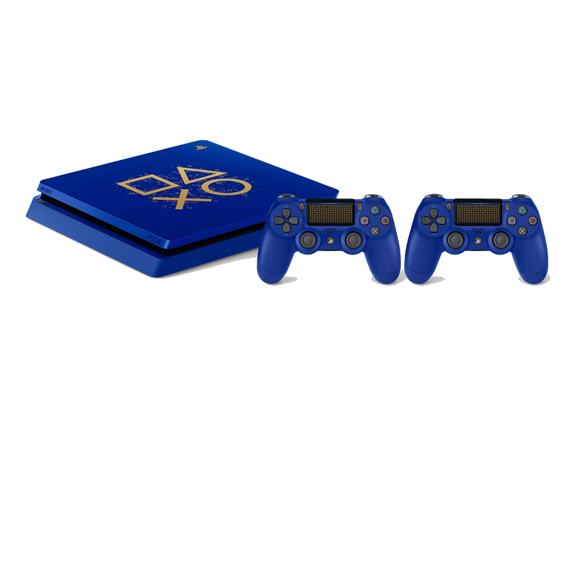 shoppi - Playstation 4 Limited Edition Days of Play avec deux Manettes