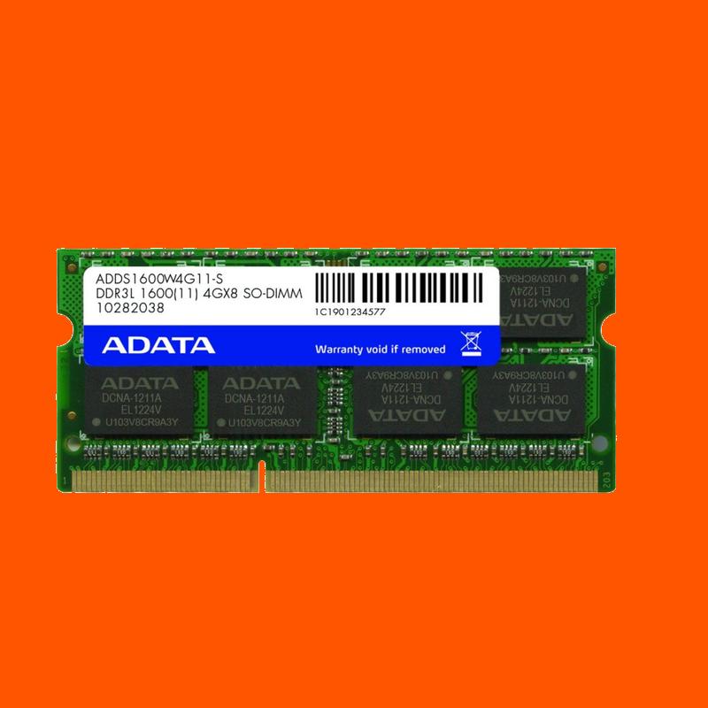 shoppi - Barette Mémoire ADATA 4Go DDR3 pour Pc Portable-Low Voltage