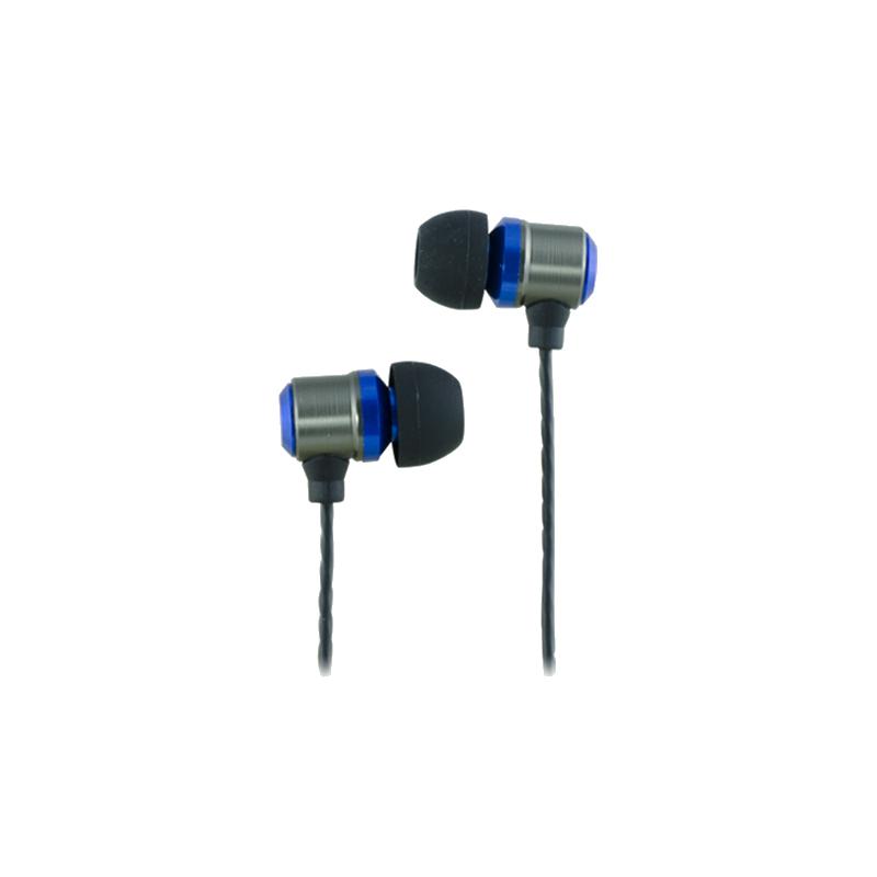 shoppi - Écouteurs CLiPtec BLACK PARTY intra-auriculaires avec micro et Contrôle du volume BME888