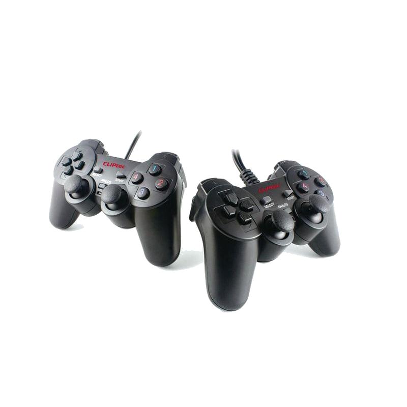 shoppi - Deux Manettes de jeu double vibreur Twins USB RZG322