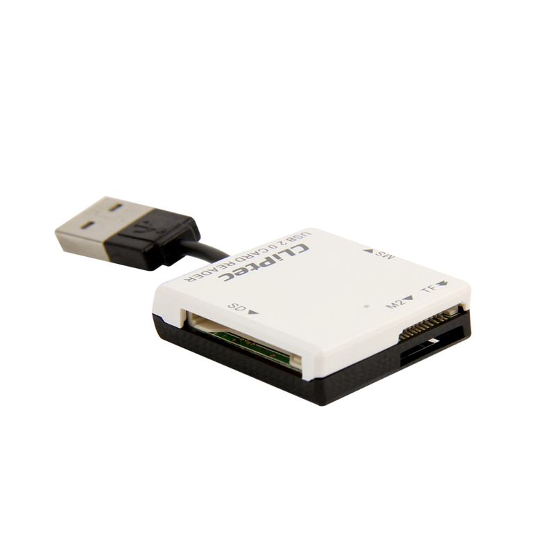 shoppi - Lecteur de cartes CLiPtec BASIC-4 USB 2.0 RZR507