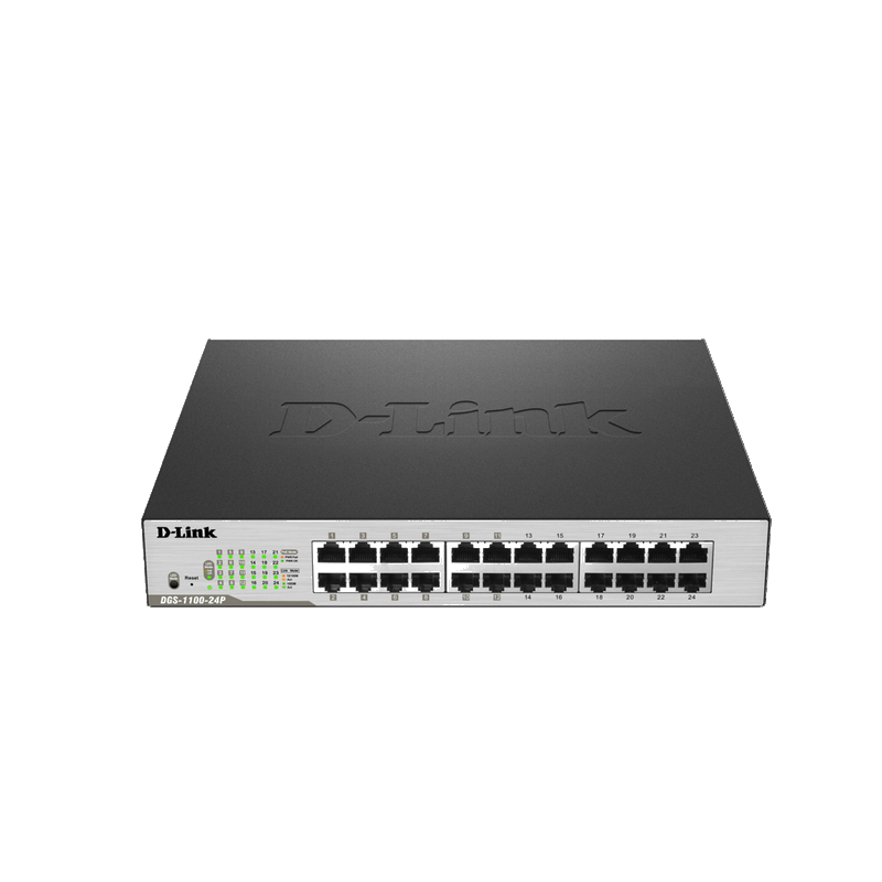 shoppi - Switch Gigabit abordable avec 24 ports dont 12 ports PoE D-LINK