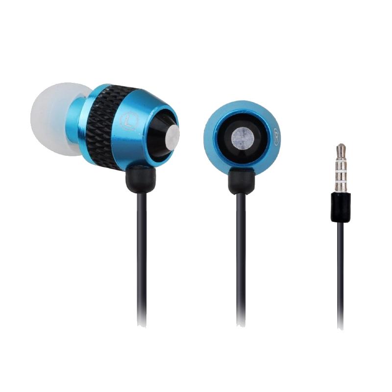 shoppi - Écouteurs GEMBIRD en métal avec microphone et contrôle du volume