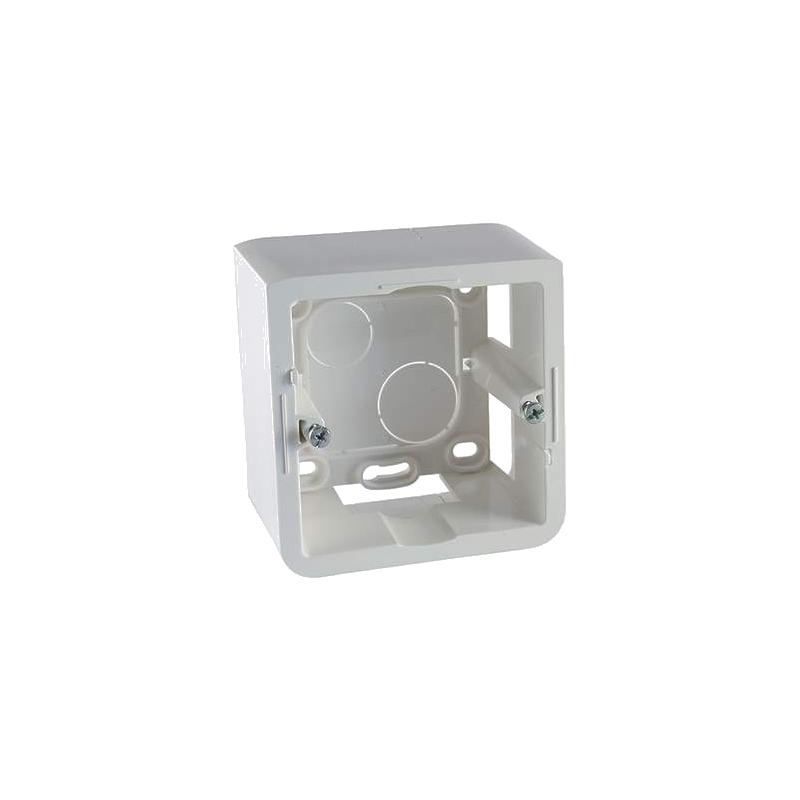 shoppi - Cadre saillie profondeur 40mm Mosaic pour 2 modules et support Legrand
