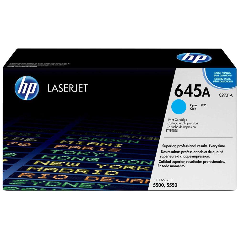 shoppi - HP 645A toner LaserJet cyan