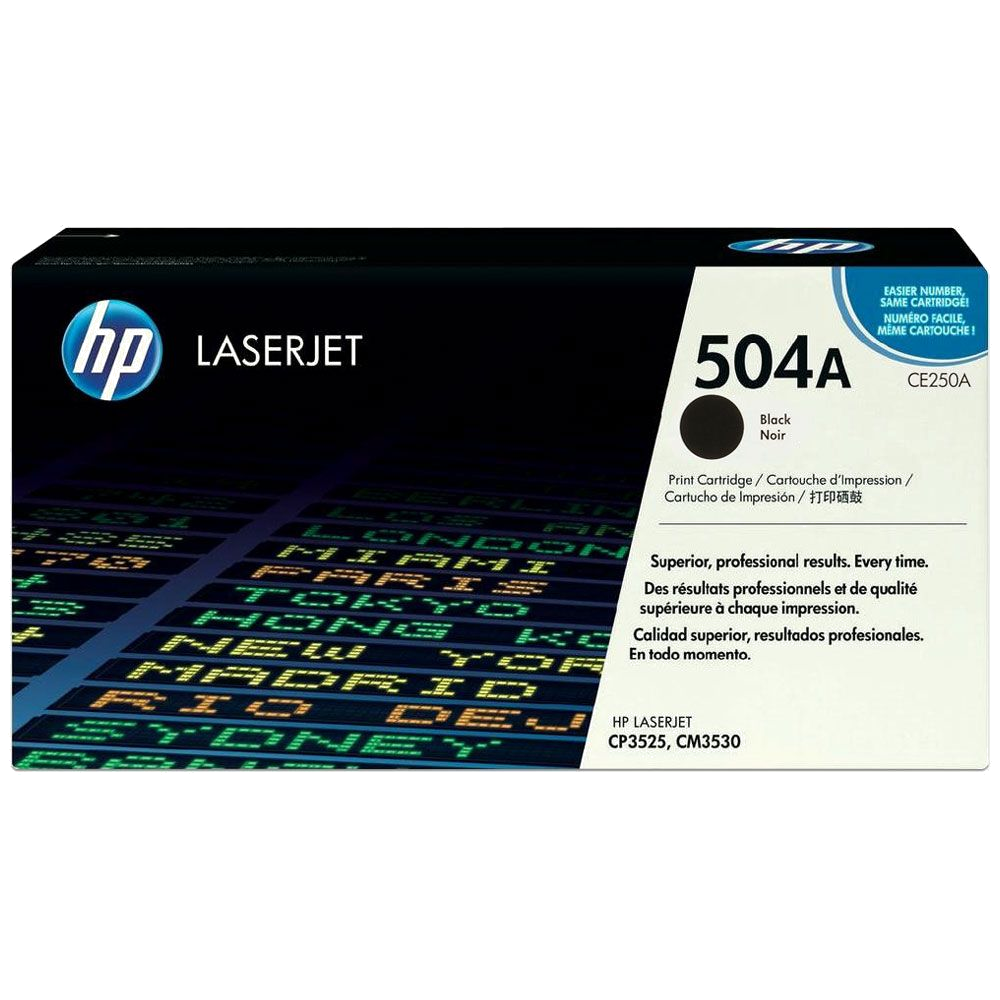 shoppi - HP 504A toner LaserJet noir