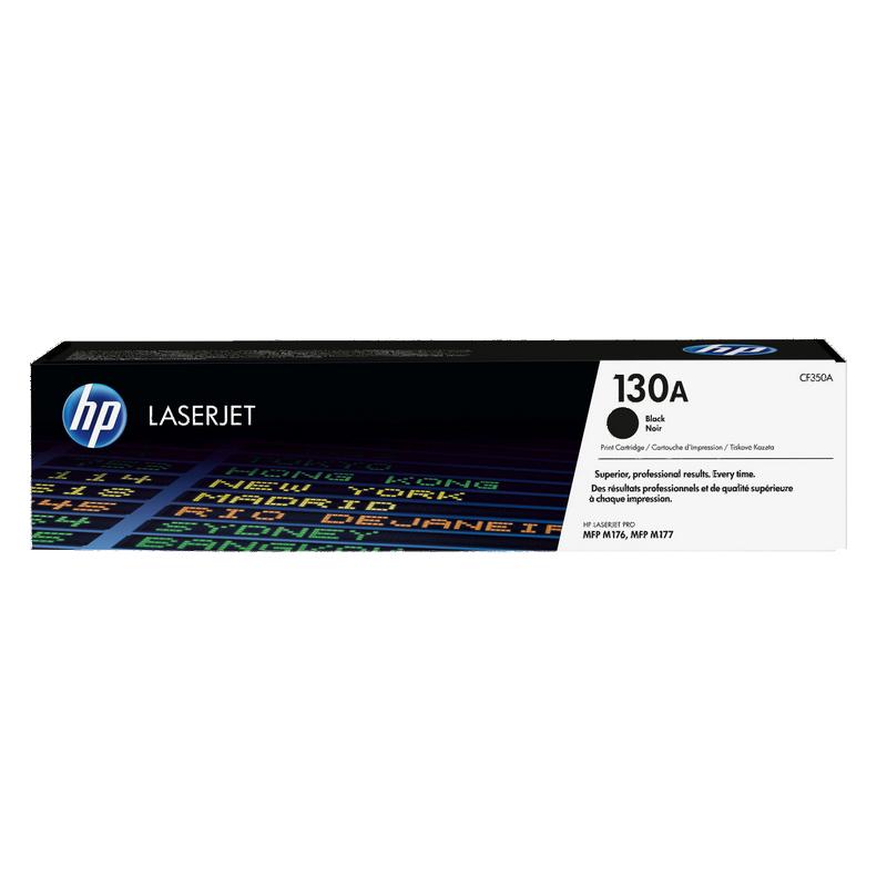 shoppi - Cartouche de toner noir d'origine HP LaserJet 130A