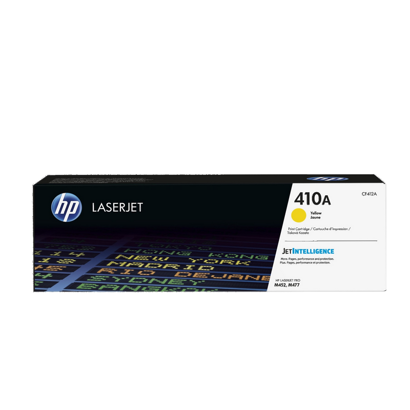 shoppi - HP 410A toner LaserJet jaune authentique