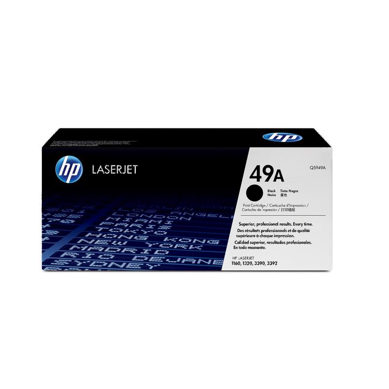 shoppi - Cartouche de toner noir LaserJet authentique HP 49A