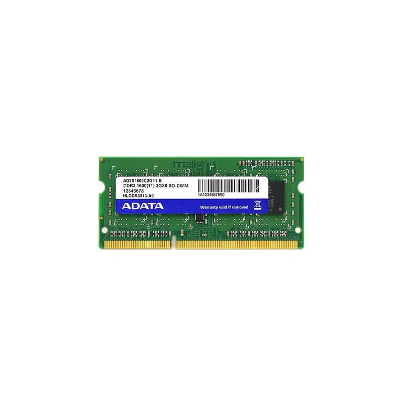 shoppi - Barette Mémoire Adata 4 Go DDR3 / 1333 MHz