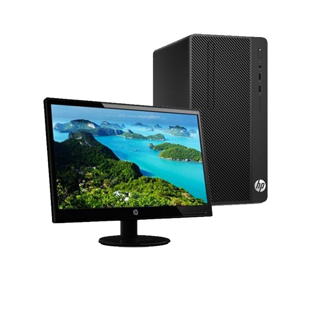 shoppi - Pc de Bureau MicroTour HP 290 G1 Dual Core 4Go 500Go