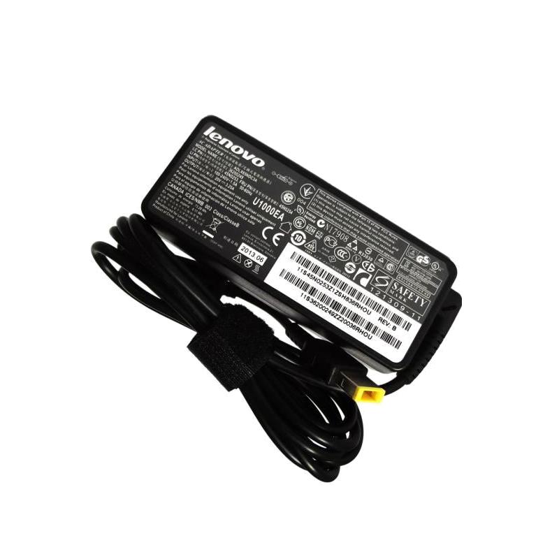 shoppi - Chargeur  LENOVO 20V / 4.5A / 90w Carré avec épingle à l'intérieur