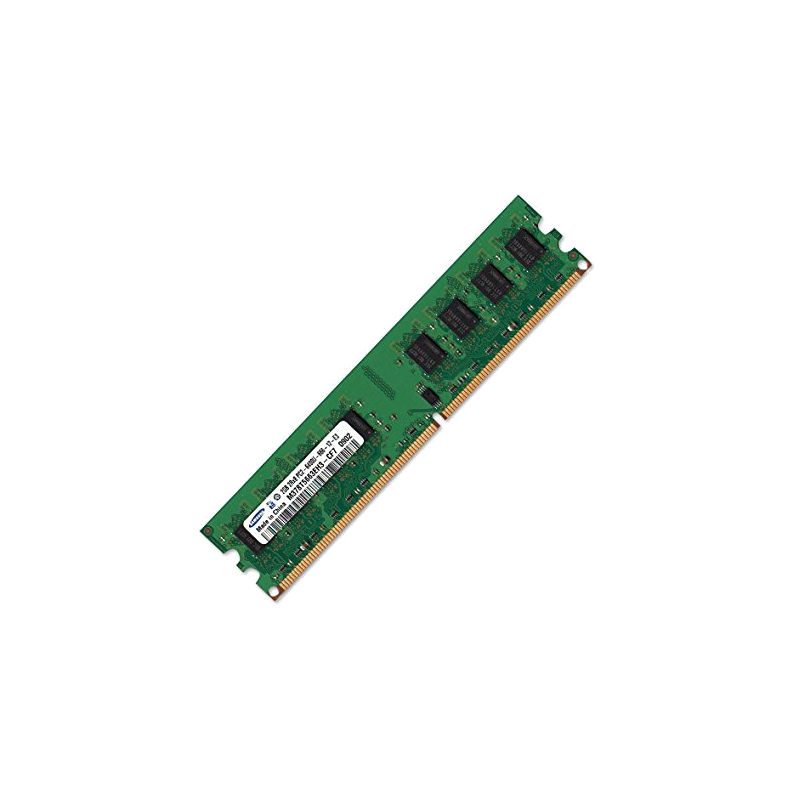 shoppi - Barrette Mémoire 2GB DDR2 6400 Samsung