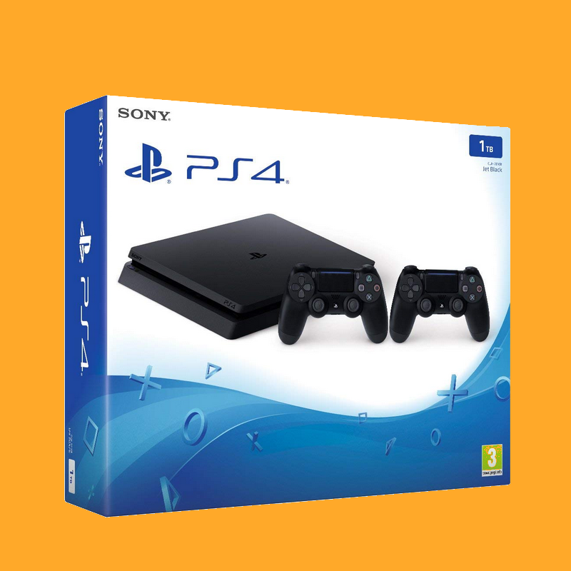 shoppi - SONY Playstation PS4 1 To + 2 Manettes