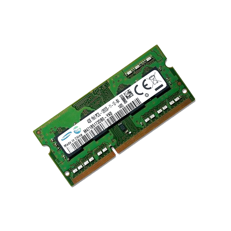 shoppi - Barrette Mémoire SAMSUNG 4G DDR3 LOW VOLTAGE 1600   PC3L-12800