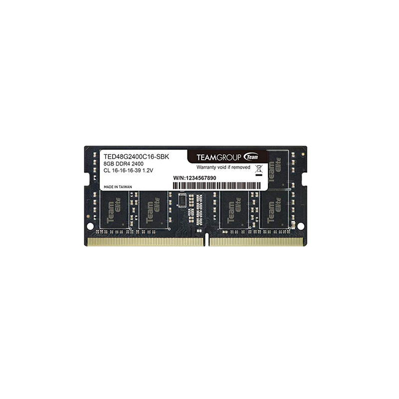 shoppi - Barrette Mémoire SODIMM 8 G DDR4-2400  TEAM GROUP