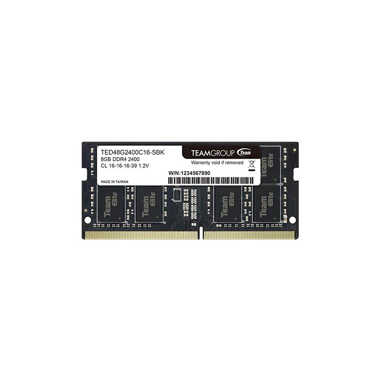 shoppi - Barrette Mémoire SODIMM 8 G DDR4-2400  TEAM GROUP