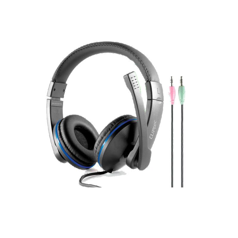 shoppi - Casque multimédia stéréo dynamique PCWAVE CLiPtec BMH529