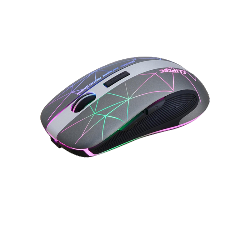 shoppi - Souris sans fil rechargeable illuminée CLiPtec GEOPOLY 2.4Ghz 1600dpi  RZS611