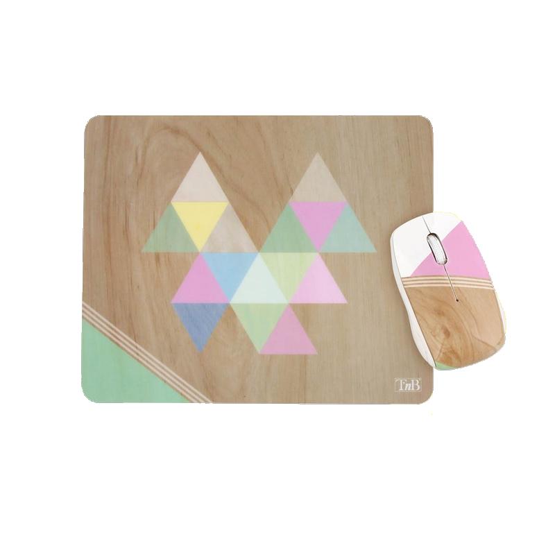 shoppi - Ensemble souris sans fil et tapis de souris scandinave T'nB