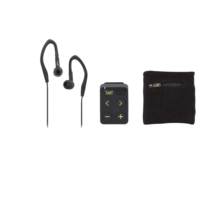 shoppi - LECTEUR MP3 SPORT + ECOUTEURS T'nB