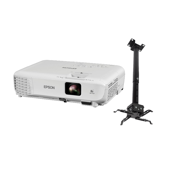 shoppi - Video Projecteur SVGA EPSON EB-S05 avec Support réglable