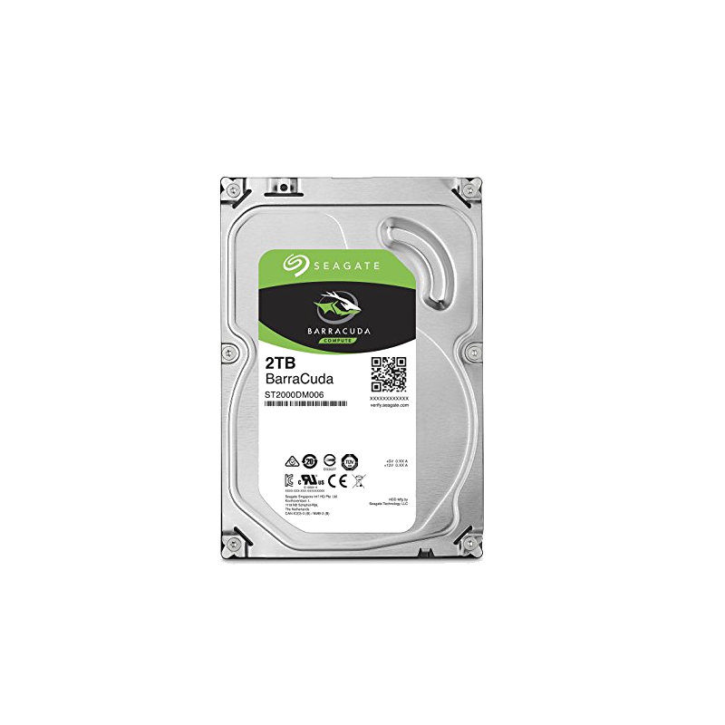 shoppi - Disque dur interne Seagate BarraCuda 2 To (0 Heure)
