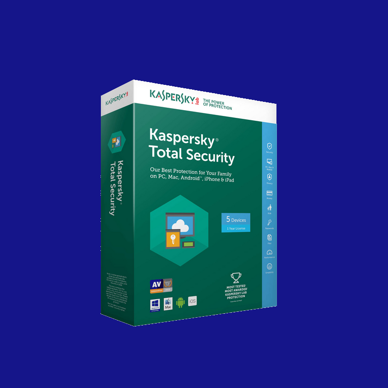 shoppi - Antivirus KASPERSKY Internet Security 2019 - 1 an / 5 Pc