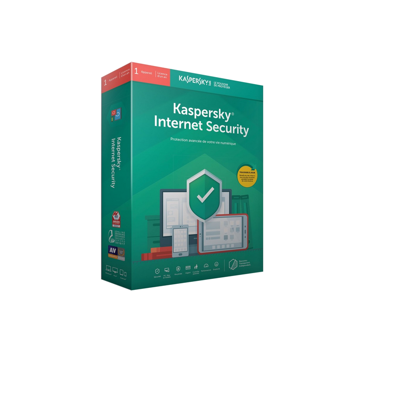 shoppi - Antivirus KASPERSKY Internet Security 2019 - 1 an / 1 Pc