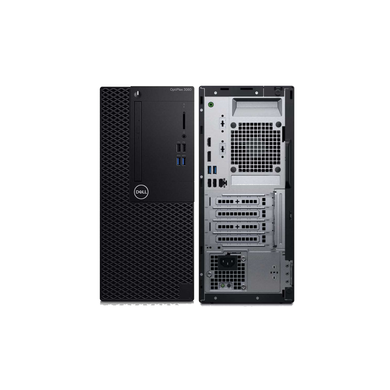 shoppi - PC de Bureau DELL OptiPlex 3060MT i3 8è Gén 4Go 1To