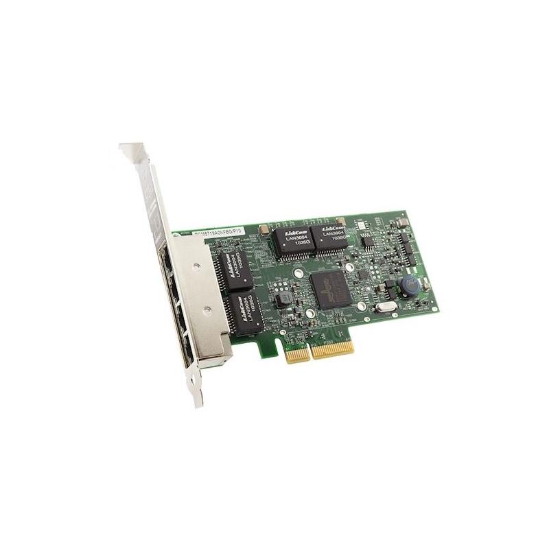 shoppi - Carte réseau Ethernet PCIe 4 ports ThinkSystem Broadcom LENOVO 5719 1GbE RJ45
