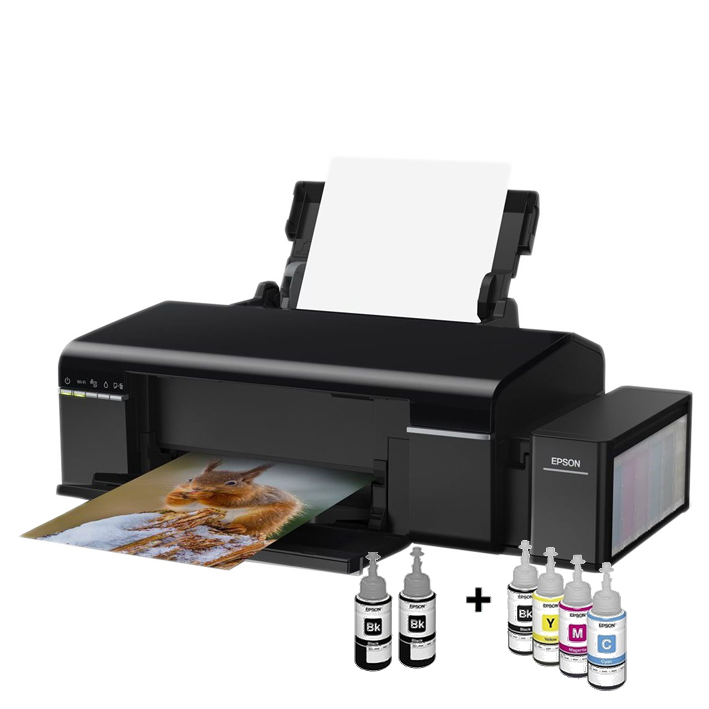 shoppi - Imprimante Wi-Fi Photo Jet d'encre Couleur EPSON L805