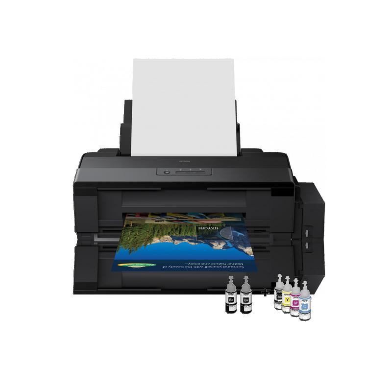 shoppi - Imprimante jet d'encre ITS L1800 à réservoir intégrée  A3