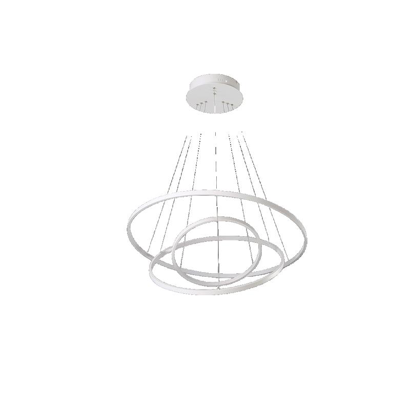 shoppi - Lustre Suspendue circulaire LED 36 watte