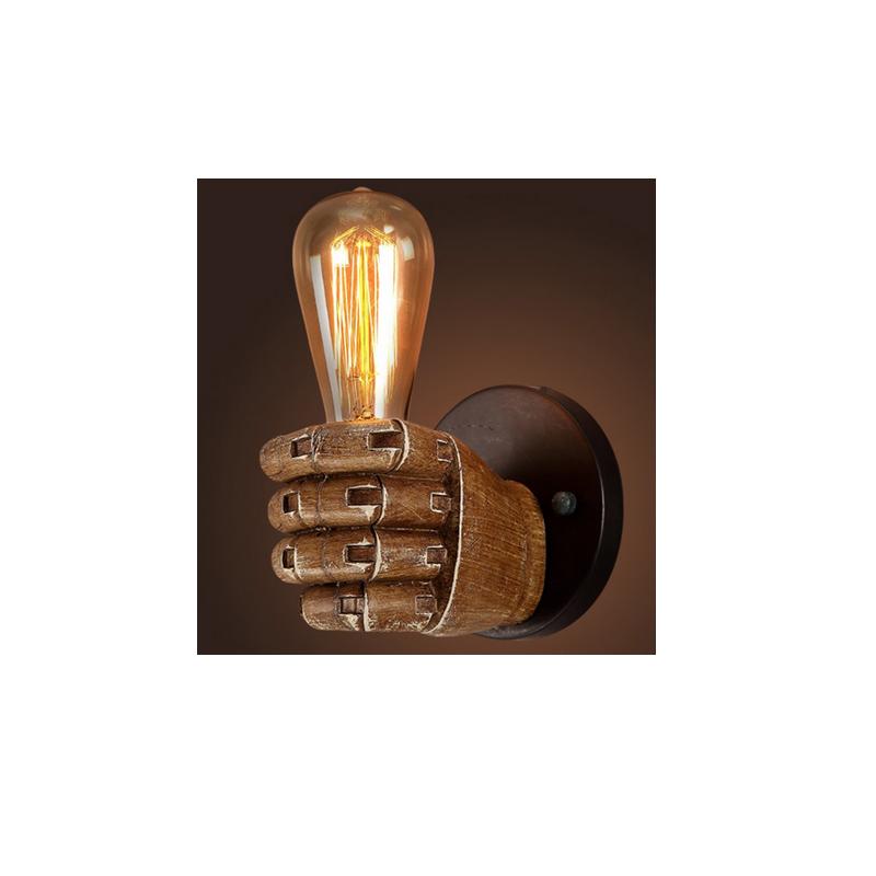 shoppi - Lampe Murale Style Loft forme Poing