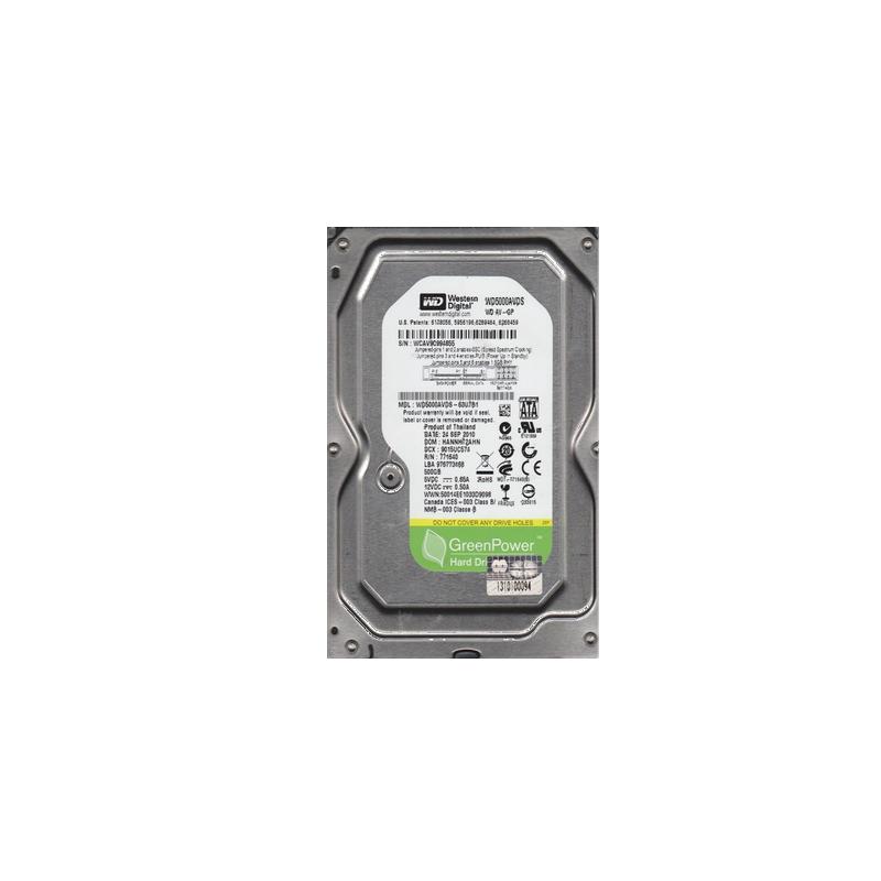 shoppi - Disque dur interne HDD 3.5 WESTERN DIGITAL 500G (0 Heures)
