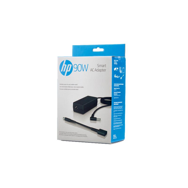 shoppi - HP Chargeur intelligent 90 W pour PC portable