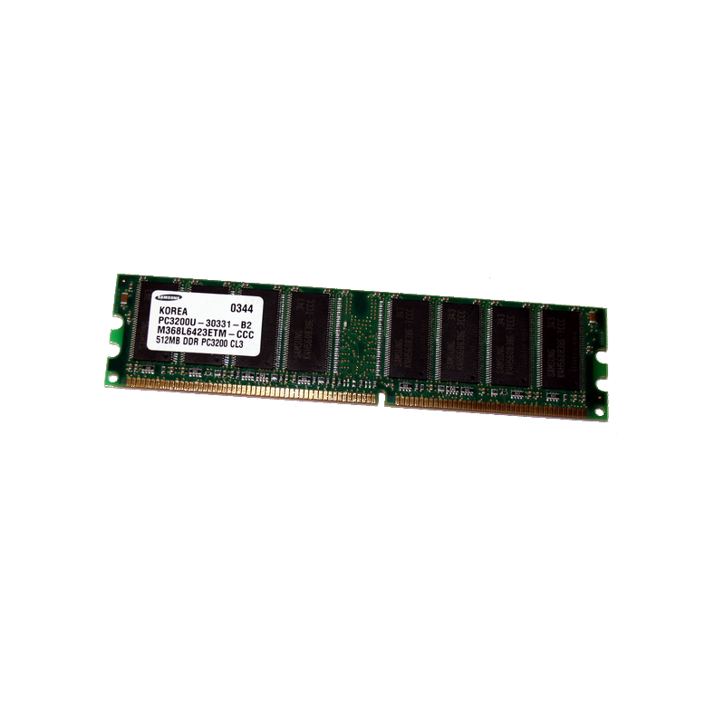 shoppi - Barrette Mémoire SAMSUNG 1 GO DDR 400 PC 3200 400mHz