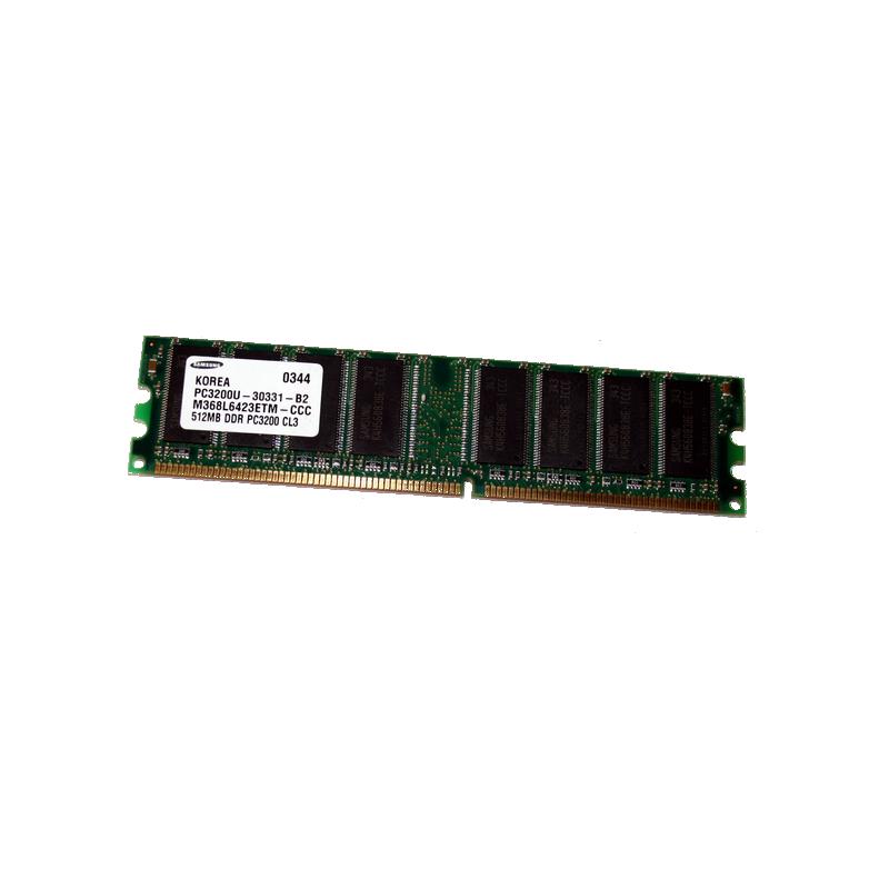 shoppi - Barrette Mémoire SAMSUNG 1 GO DDR 400 PC 3200 400mHz