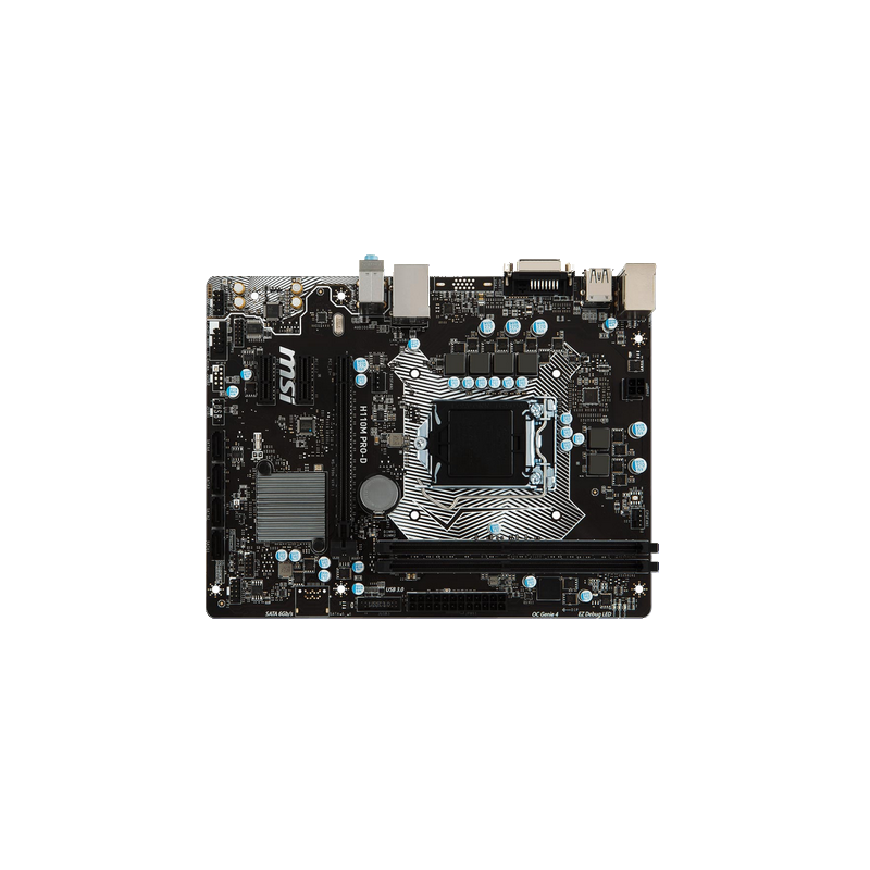shoppi - Carte Mère MSI Intel H110 Express PRO-VD PLUS MSI-H110M